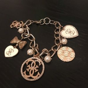 Guess Jewelry - Guess Gold Charm Bracelet